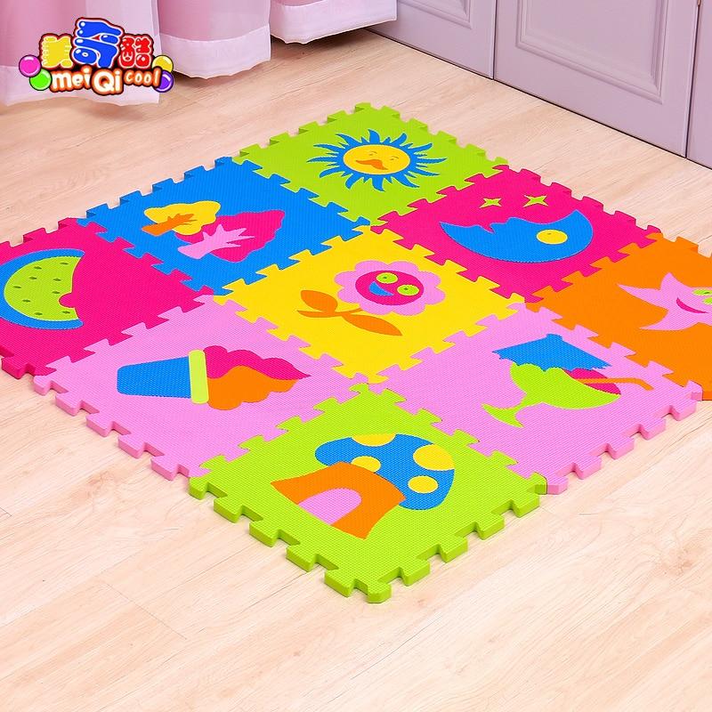 9 Pçs/set Crianças Jogando Mat Crianças Tapete Desenvolvimento Jogar Puzzle  Brinquedo Educação Brinquedo Do Bebê Engatinhando Tapete Tapete De Espuma  EVA ...