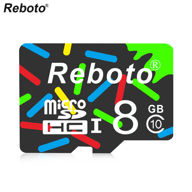 Reboto High Speed 8GB Memory Card 4GB Micro SD Card 2GB mini microsd TF Card for Smartphone