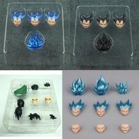 Dragon Ball Demoniacal Fit Suit for SHF Yamcha SSJ Goku Vegeta Tien Shinhan Accessories Headsculpt Replacement Hair Clothes Set