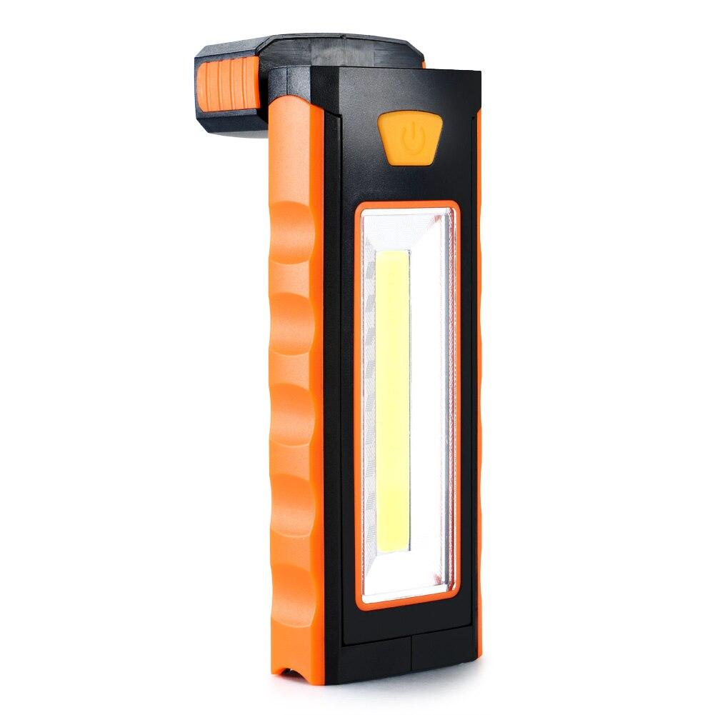 1 Stück Super Helle 3 Watt Cob Led Taschenlampe Camping Lampe Inspektion Arbeits Zelt Licht Magnetische Orange Für Die Umwelt Verschiedene Stile