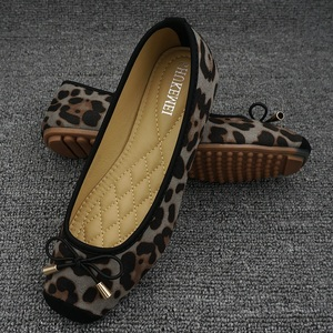 Image 4 - Leopard Flats Loafers Women Driving Shoes Slip On Moccasins Ladies Comfort Fordable Flat Shoes Ballerines Flats Chaussures Femme