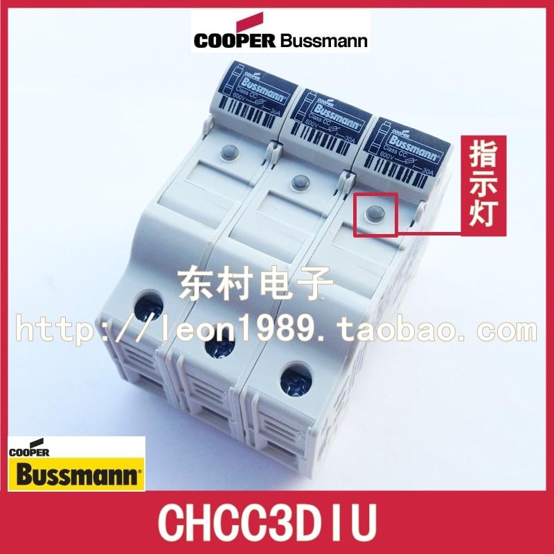 [SA] porte-fusible BUSSMANN CHCC3DIU CHCC3DU 30A 600 V 3 P 10*38mm
