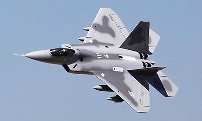 Scale Sky Flight LX RC F22 Raptor ARF/PNP EPS Airplane Model Twin 70mm EDF Gray scale sky flight lx twin 70mm edf rc