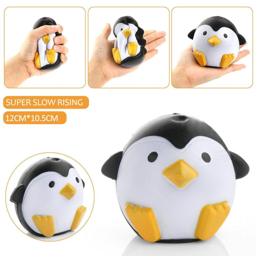 New Cute Penguin Squeeze Stretch Soft Slow Rising Restore Fun Toy Gift A4212 Stuffed & Plush Animals
