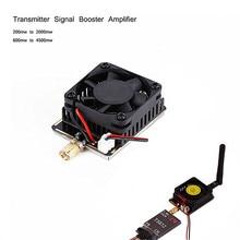 цена на 5.8G 3W/4.5W Wireless AV Transmitter Signal Booster Extend Range Amplifier For FPV RC helicopter