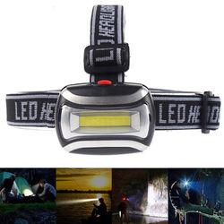 Налобный фонарь ZK20, светодиодный, пластиковый, 600 лм, 3 AAA