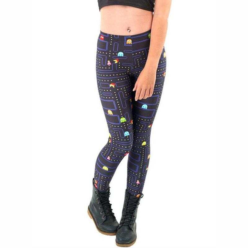 aa83e506626d29 2019 New Free shipping hot sexy fashion greedy bean leggins pants digital  printing of leggings for