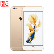 "Разблокирована apple iphone 6s/6s plus dual core 2 ГБ оперативной памяти 16/64/128 ГБ rom 4.7 ""и 5.5"" 12.0MP Камера 4 К Видео iOS 9 LTE Использовали Сотовые телефоны"