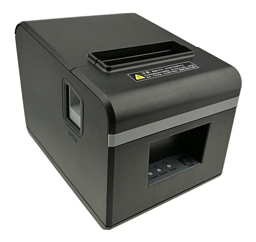 """מותג חדש 80 מ""""מ מדפסות קבלת תרמית קופה ביל מדפסת מדפסת מטבח עם חותך אוטומטי פונקצית מראה מסוגנן"""