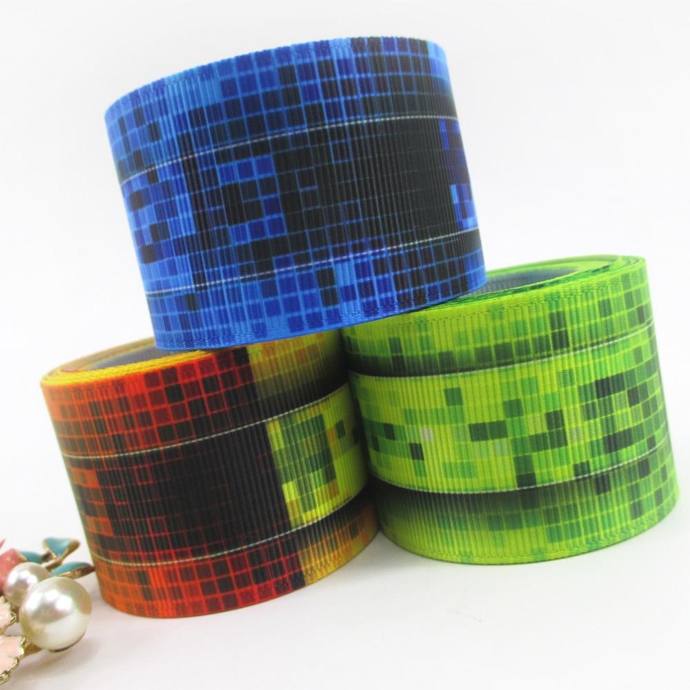 David accessories 1.5(38mm) grosgrain ribbon stripe dots multi diagonal 50 yards,DIY handmade materials,50Yc2008