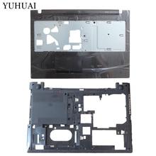Новый для Lenovo IdeaPad G500S G505S ноутбук palmrest Крышка верхняя чехол + Нижняя чехол