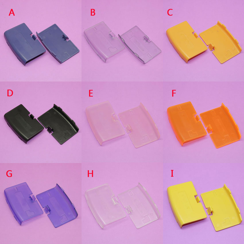 90pcs Brand New Replacement part For Nintendo For GameBoy Advance For <font><b>GBA</b></font> game console <font><b>battery</b></font> cover shell case