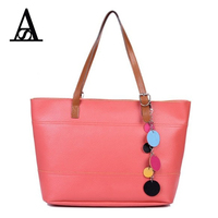 Aitesen Summer Women PU Leather Solid Totes Women Famous Brands 2017 Michael Handbag Bolsa Feminina Bolsos
