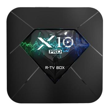 X10 Pro TV Box Android 8.1 Amlogic S905X2 4GB+32GB 64GB WiFi BT4.0 Set Top Box WiFi Bluetooth 4K HD Media Player