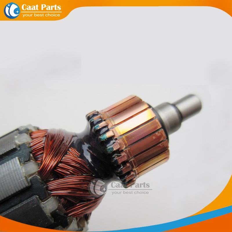 AC220-240V 7 denti ingranaggio albero martello elettrico armatura - Accessori per elettroutensili - Fotografia 2