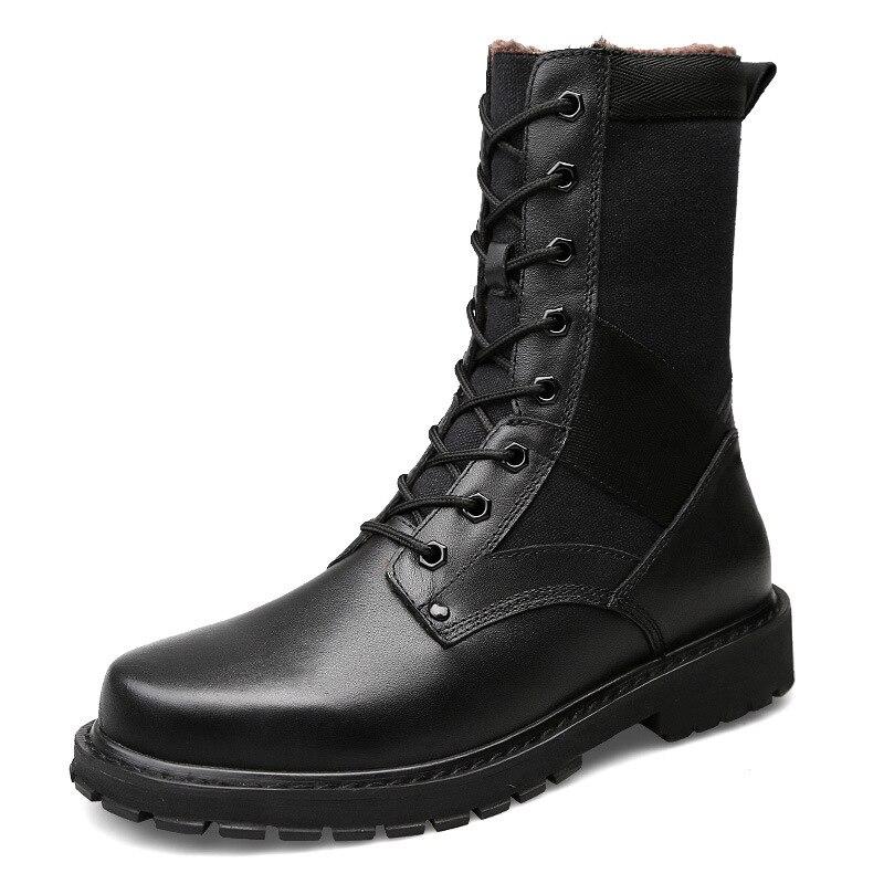 Красивые мужские Ботинки martin; походная обувь; мотоботы из натуральной кожи; Тактические армейские ботинки; спортивные непромокаемые кроссо