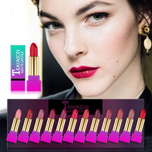 Explosion fashion girl 12 lipstick set shiny gradient tube full of hot moisturizing lip makeup New hotsale