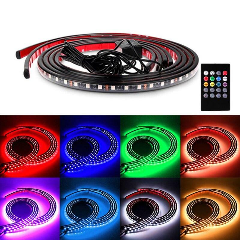 LED Strip Verlichting Kleuren RGB 5050 SMD Onder Auto Buis Underglow ...