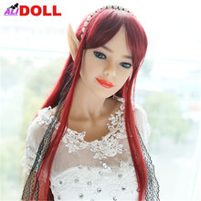 Japanese 168cm Fairy Elf Beauty Real Silicone Sex Dolls Real Doll Sex Toys Rubber Woman Metal Skeleton Sex Doll Oral Anal Vagina(China)