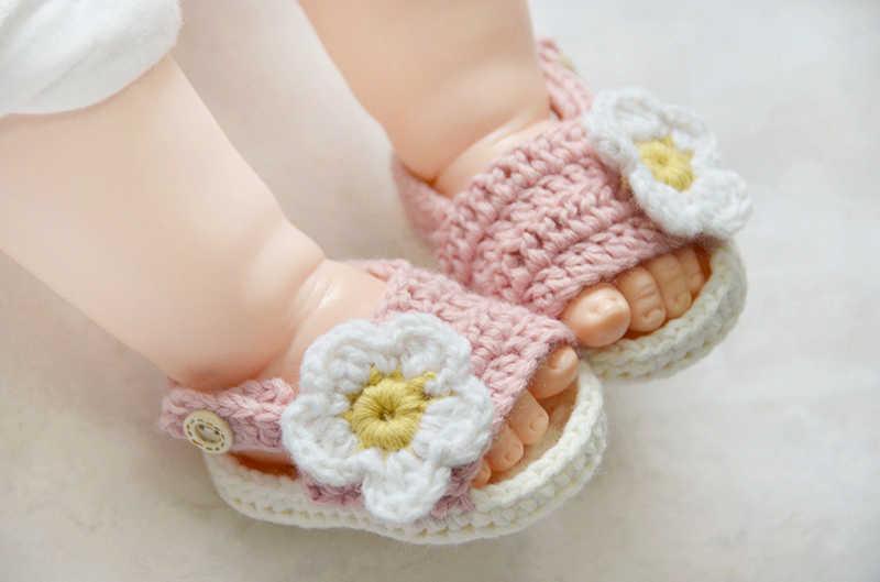 sector Democracia Ministerio  Zapatos Tejidos A Crochet Para Bebe Niña - Noticias Niños