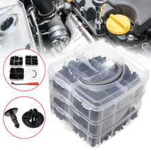 For Car Truck Train 620pcs 16Sizes Mixed Car Clips Side Skirt Bumper Rivet Fasteners Universal Mayitr