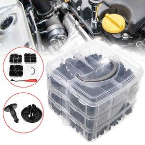 Image 1 - For Car Truck Train 620pcs 16Sizes Mixed Car Clips Side Skirt Bumper Rivet Fasteners Universal Mayitr