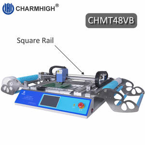 Image 1 - Best seller! 58 Feeders CHMT48VB All in one, PC in build SMT Pick and Place Machine, Closed loop control, 2 cameras 110v 220v