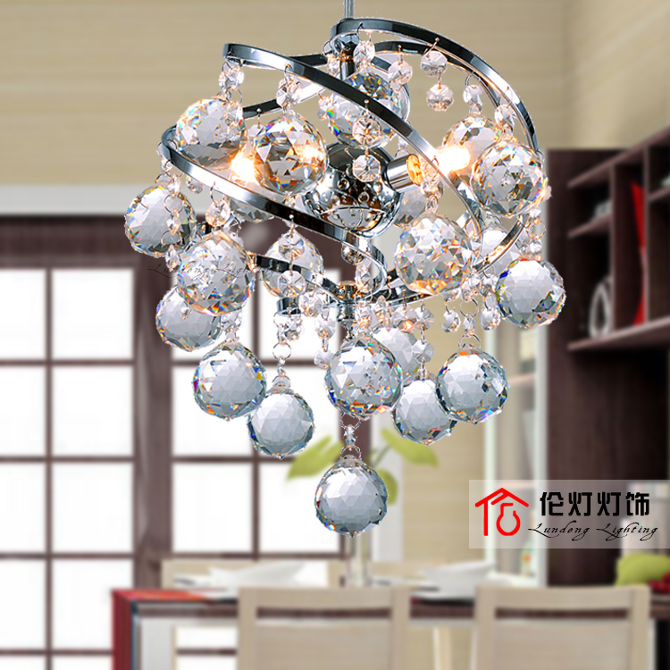 modern Crystal Suspension Luminaire  Fashion Crystals  Chandelier for dining room bedroom lamp 2016 time limited suspension luminaire basons fashion living room pendant light modern bedroom lamp brief crystal dining lamps