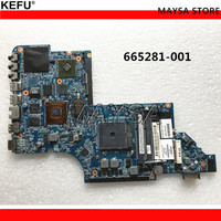 665281 001 for HP Pavilion DV6 DV6 DV6 6000 motherboard HD6750M/1G.All functions 100% fully Tested !