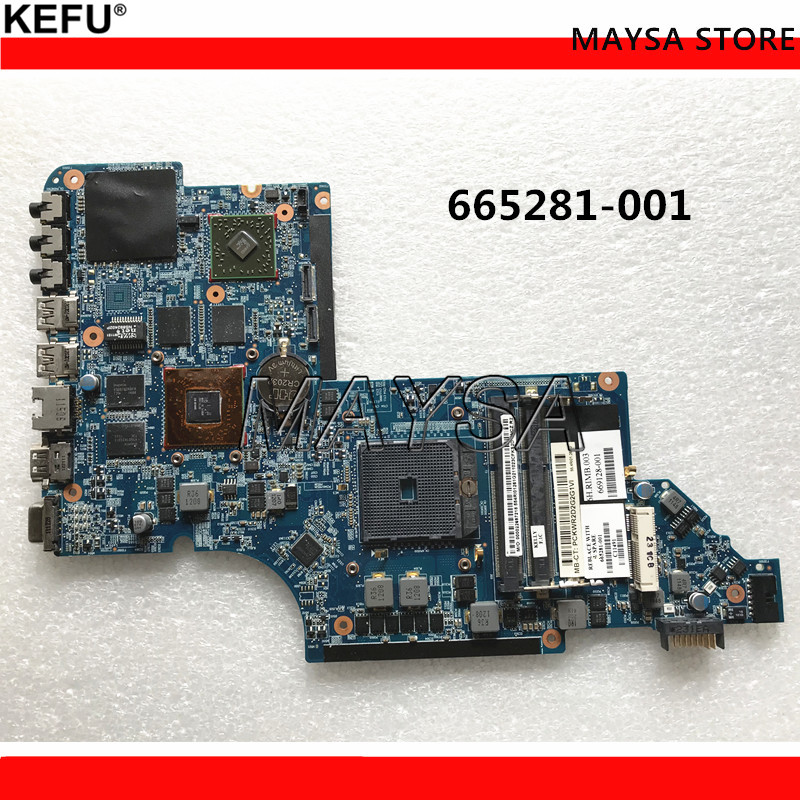 665281-001 for HP Pavilion DV6 DV6 DV6-6000 motherboard HD6750M/1G.All functions 100% fully Tested ! 571188 001 for hp pavilion dv6 2000 dv6z 2000 notebook dv6 laptop motherboard daut1amb6e0 daut1amb6e1 m92 512mb fully tested
