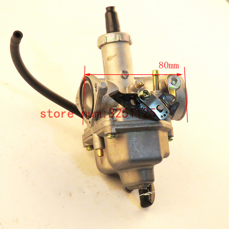 Honest New 26 Mm Pz26 Carb Hand Chock Carburetor Motorcycle Carburador Used For Honda Cg125 And Other Model Motorbike Delicious In Taste Carburetor