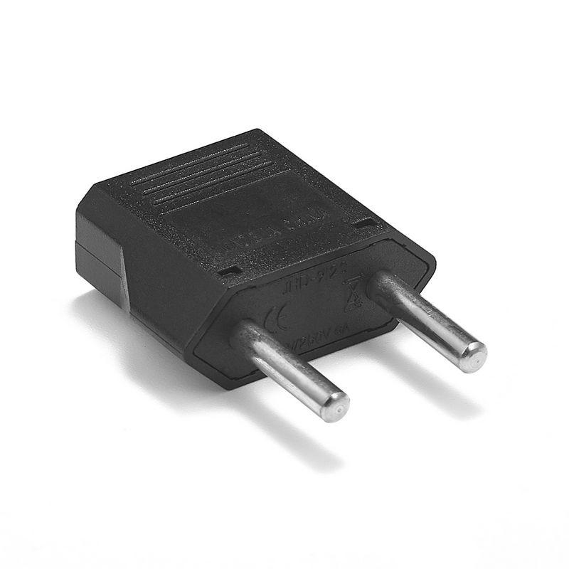 500pcs Italian CN US To EU Germany Power Adapter German European EU AC Travel Plug Adapter Outlet Electrical Power Sockets