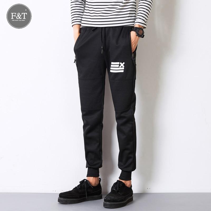 Men Casual Pants 2016 Autumn New Jogger Sportswear Pants Hip-hop Harem Pants Men Slim Long Trousers Mens Joggers Sweatpants