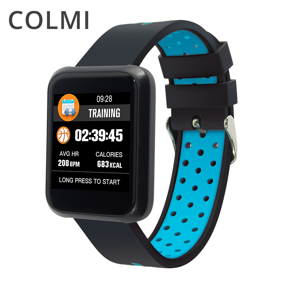 COLMI Sport Smart Watch Blood Pressure Touch Screen Waterproof Heart Rate Monitor Smartwatch Health Bracelet for iOS Android