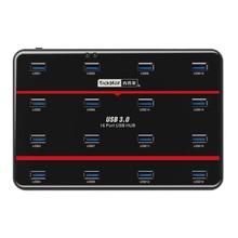 Промышленного класса USB3.0 16 Порт Может Работать В То Же Время Для Быстрого Копирования И Тест U Диск Тестирования инструменты