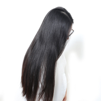250 Density Silk Straight Lace Front Human Hair Wigs Brazilian Remy Hair Honey Queen Pre Plucked