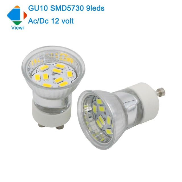 Fantastisk Viewi 5x bombillas led gu10 spotlight Ac/Dc 12 volt small spot VR-24