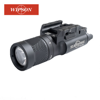 WIPSON X300V Flashlight Waterproof Weapon Light Pistol Gun Lanterna Rifle Picatinny Weaver Mount For Hunting