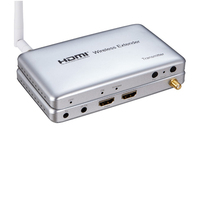 High Quality Wireless HDMI Extender 50M HD 1080P Video/Audio Signal Transmission System HDMI wireless Extender TX and RX