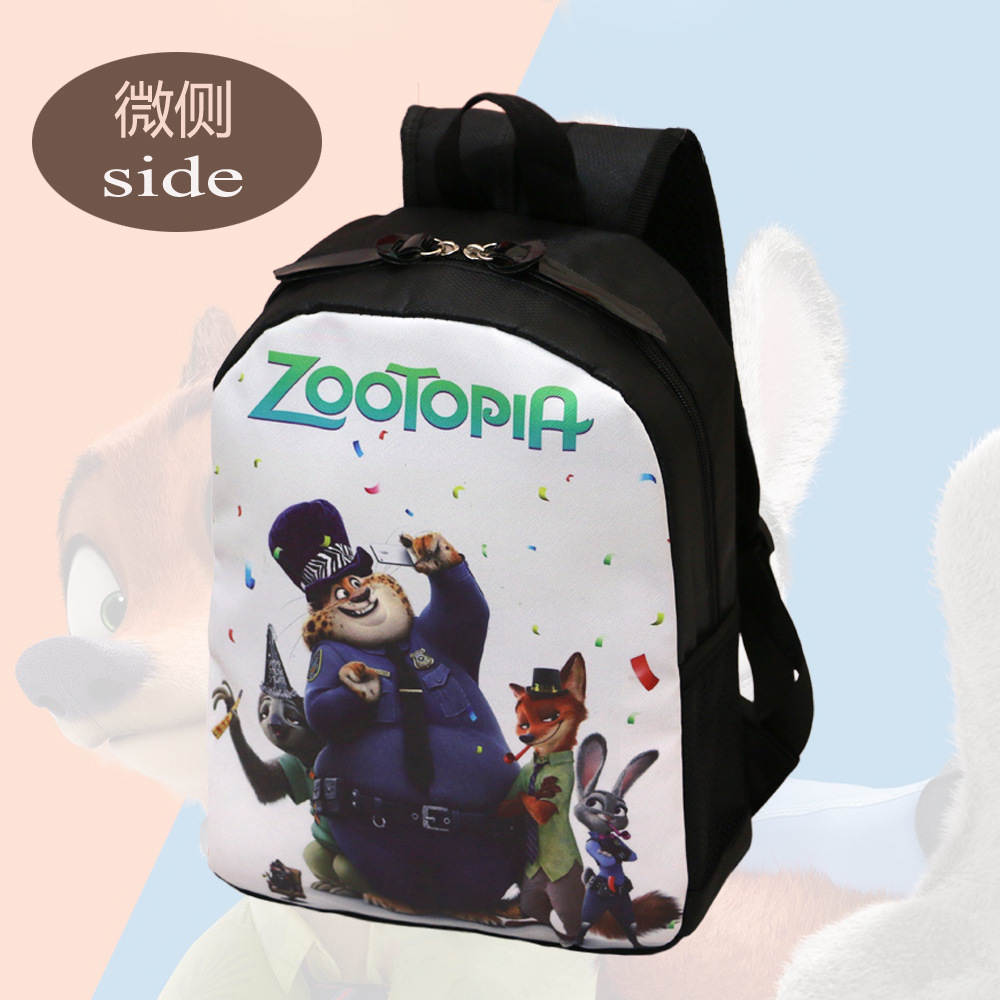 a2a2c70889ad Boys Zootopiab Cartoon Sky Blue School Bags Kindergarten Children Jordan  Backpack Minions Kids School BookBags Primary School-in School Bags from  Luggage ...