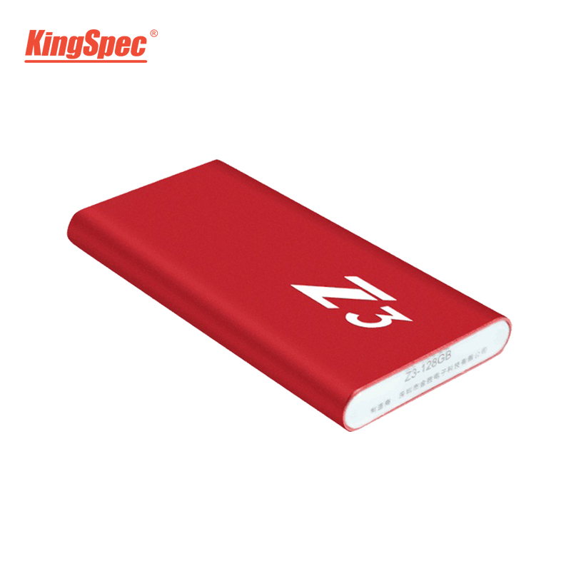 Z3-256 KingSpec Externe Portable SSD Disque Dur 256 gb USB 3.1 Type-c Solide State Disk Usb 3.0 - 6