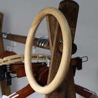 Neue Kung Fu Ring Flügel Chun Rattan Ring 1 Stück Traditionellen Kampfkunst Holz Dummy Hand Handgelenk Strenght Ausbildung