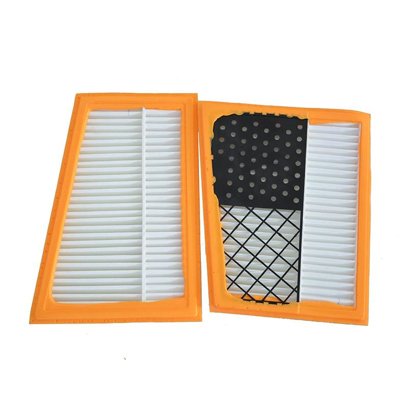 2pcs filtros de ar do motor do carro para mercedes benz gl350 gl320 e300 e320 c320