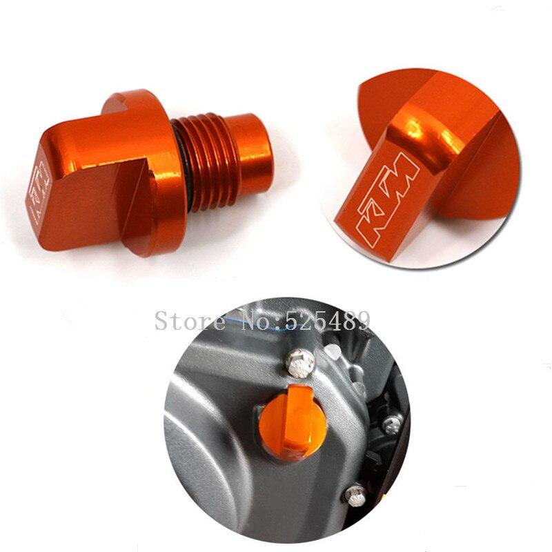 Nuevo  de la marca de la motocicleta accesorios de orange cnc de aluminio del mo
