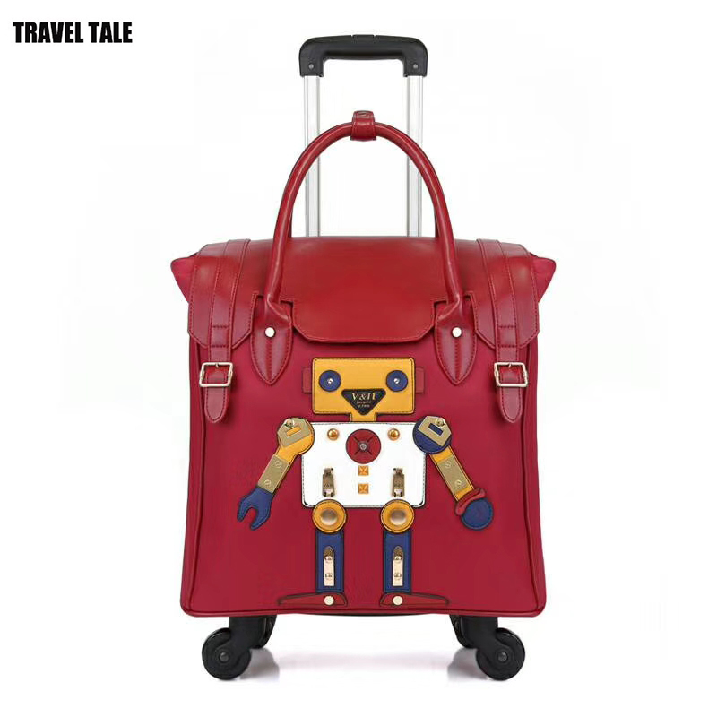 Travel Tale 18 Inch Women Carry On Hand Luggage Light