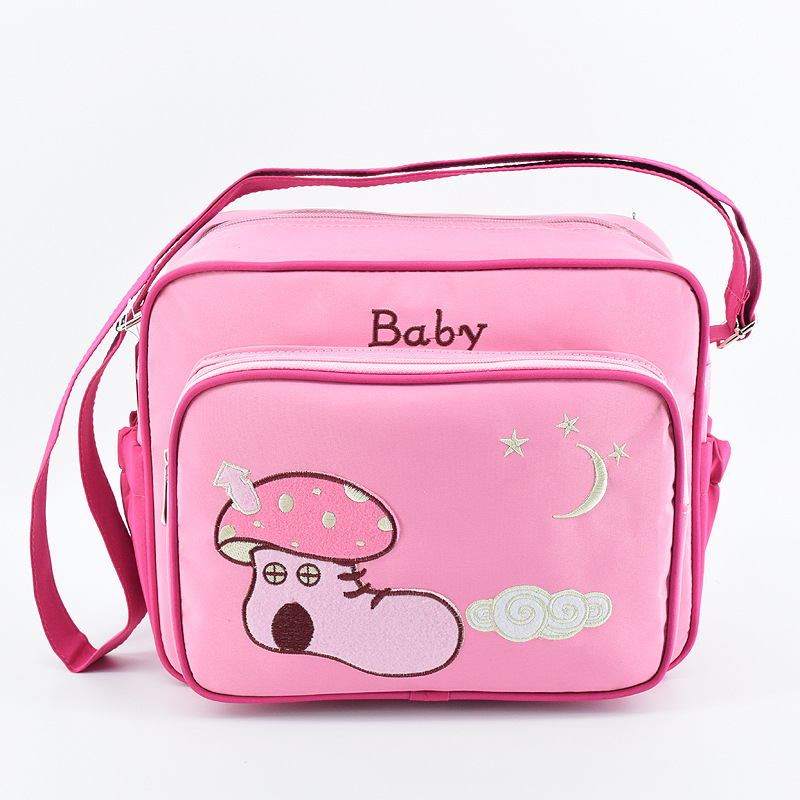 Carton Nappy Handbags Multifunctional Baby Diaper Bags Large Capacity Mother Mummy Messenger Bags Stroller Bag