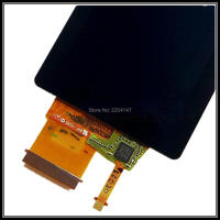 YENI LCD Ekran ekran SONY Cyber-shot Için DSC-TX200 DSC-TX300 DSC-TX30 TX200 TX300 TX30 dijital kamera Backlight ve Dokunmatik