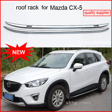 upgraded roof rack roof rail roof bar luggage rack for Mazda CX-5, original design,supplied by ISO9001 factory, stable quality