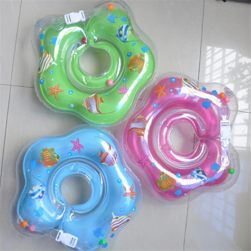 جديد الرضع طفل لاب السباحة الطفل الرقبة تعويم pvc حلقة نفخ السباحة دائرة الرقبة swimtrainer 2016