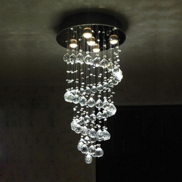 Moderne einfache FÜHRTE kristall lampe wohnzimmer lampen ...